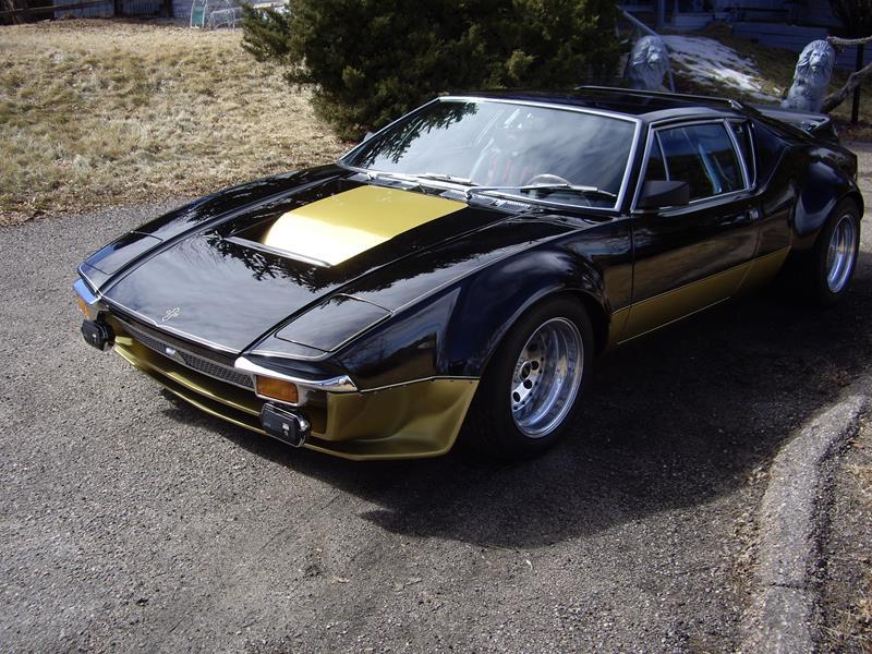 Muck's 1972 DeTomaso Pantera GTS