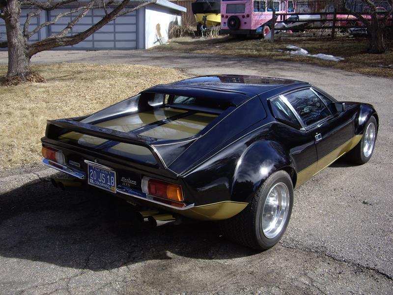 Detomaso Pantera For Sale >> Muck's 1972 DeTomaso Pantera GTS